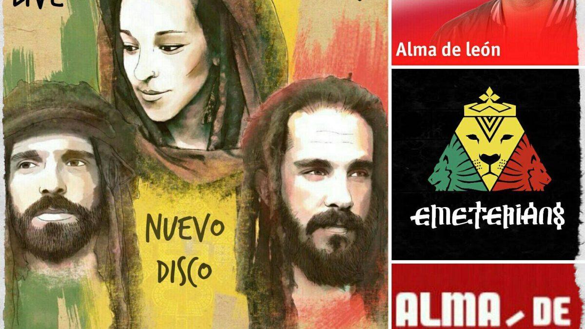 Emeterians Live & Direct in RNE Radio 3 Alma de Leon