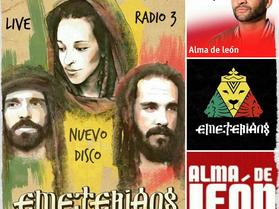 Emeterians Live & Direct in RNE Radio 3 Alma de Leon