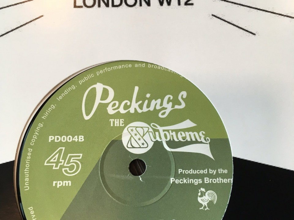 """Hardest thing to say"" Peckings vinyl"