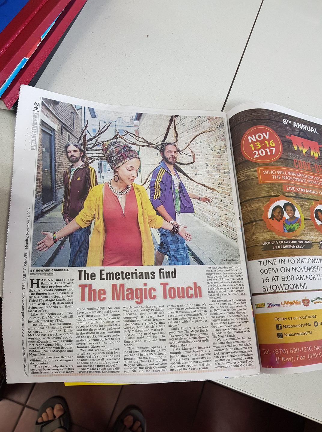 Emeterians on Jamaica Observer