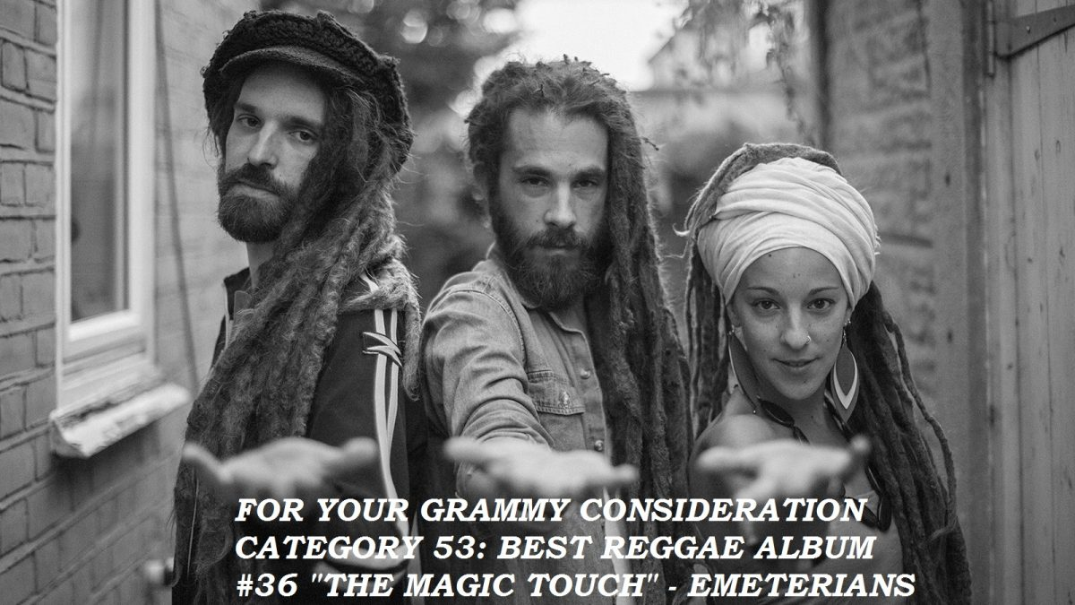 For your Grammy consideration, category 53 for Best Reggae