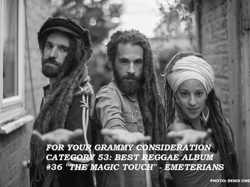 THE MAGIC TOUCH GRAMMY CONSIDERATION