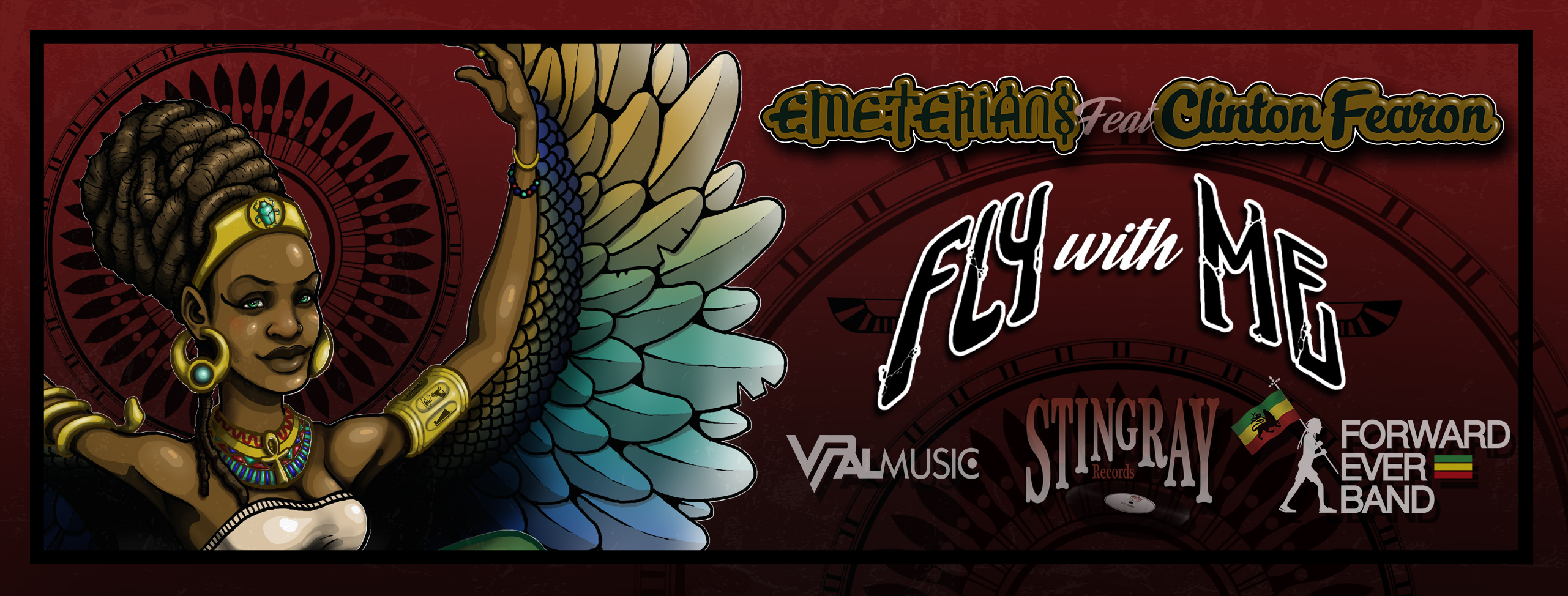 EMETERIANS ft CLINTON FEARON Fly With Me (Banner)